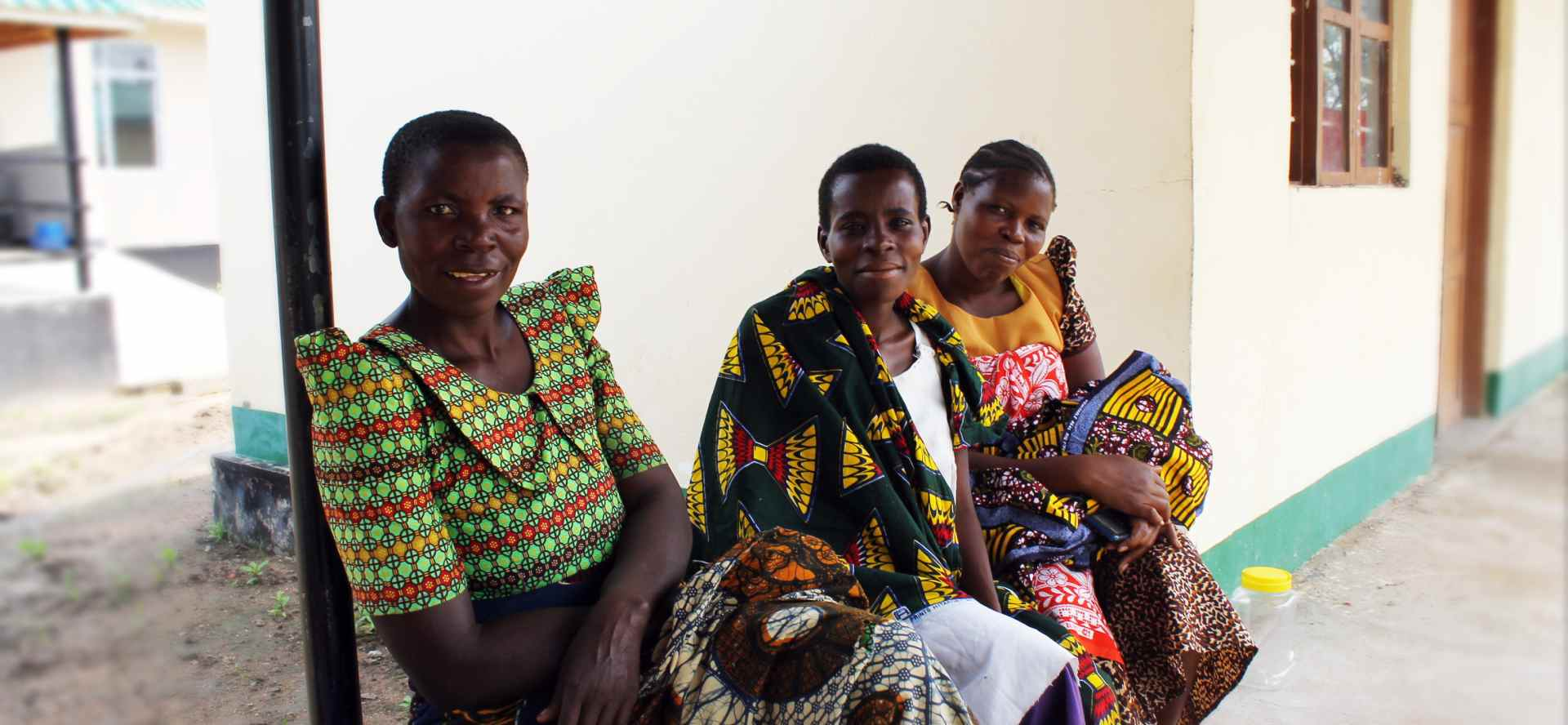 Women sitting at a health clinic